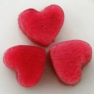 Marigold berry jellies