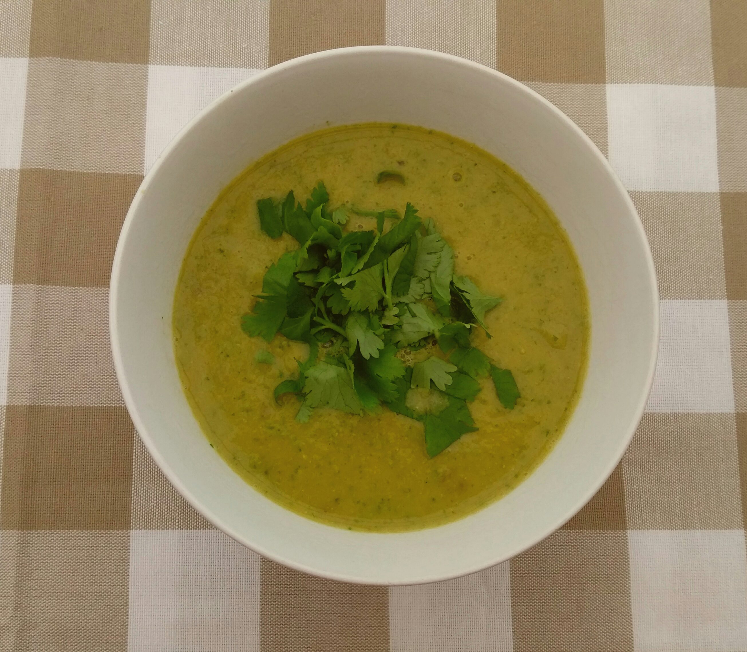 Chickpea soup recipe